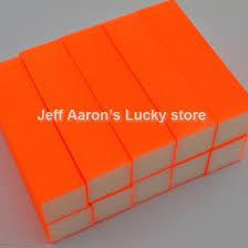 online get cheap orange nail sanding block aliexpress com
