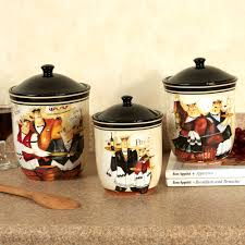 Canister Sets For Kitchen Ceramic Days Of Wine Waiters Kitchen Canister Set Canisters Pinterest