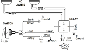 driving light relay wiring diagram wiring diagram and schematic