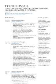Dba Administrator Resume Writing Narrative Essays Middle Alarm Sales Resume Sample