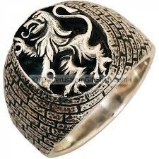 silver lion ring holder images Lion of judah sterling silver ring made in the holy land jpg