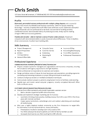 Great Resume Cerescoffee Co 100 Short Resume Format Resume Cv Objective Goals For A