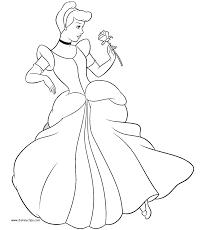 printable 45 princess cinderella coloring pages 3519 princess