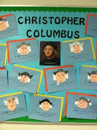 thanksgiving columbus kinder learning garden columbus day bulletin board