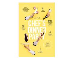 maple chef u0027s dinner party mr greg hathaway