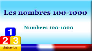 french numbers worksheet 1 1000 430 best vocabulary activities