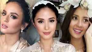 hair color for pinays 10 wedding day hair ideas inspired by pinay celebrity brides