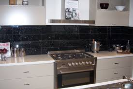 great black glass tiles for kitchen backsplashes u2014 railing stairs