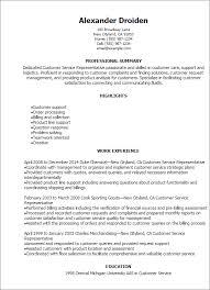 resume for customer service resume for customer service representative resume badak