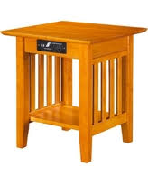 chairside table with charging station amazing deal atlantic furniture houlton chair side table with