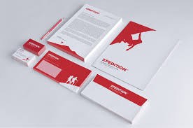 Business Letterhead Design Ideas by Xpedition Print Identity Mockup Envelope Business Card