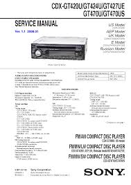 sony cdx gt420u wiring diagram sony wiring diagrams collection