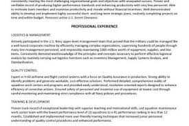 Logistics Management Specialist Resume Army Supply Specialist Resume Reentrycorps