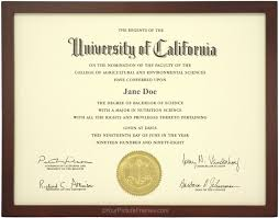 diploma frames walnut stained wood diploma frame