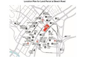 Bugis Junction Floor Plan by Commercial Site At Beach Road Triggered For Public Tender Real