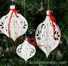 diy paper house ornament diy paper ornament and