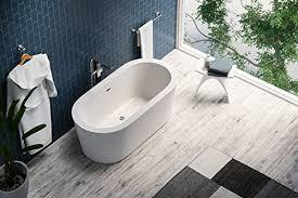 Lucite Bathtub Oval Freestanding Bathtub