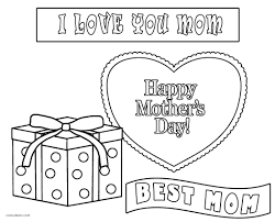 happy mothers day colouring pages mother coloring kids valentines