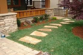 landscape add your style to the garden with walkway ideas on a