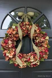 25 unique hydrangea wreath ideas on diy wreath