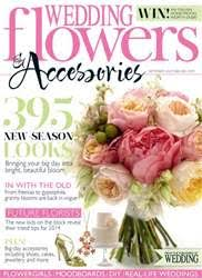 wedding flowers magazine wedding flowers magazine september october 2013 subscriptions