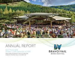 Jennifer Kelly Geddes Bravo Vail Music Festival U0027s 2016 Annual Report By Bravo Vail Issuu