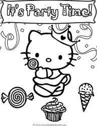 personalized hello kitty birthday party bingo game popular