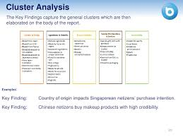 trend analysis report template writing key findings general trends and recommendations