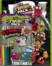 amazon trash pack jumbo activity kit gross gang