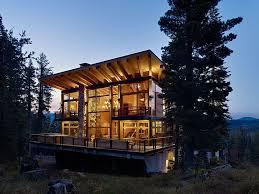 Contemporary Cabin Classic Ski Cabin Design Meets Contemporary Luxury At The Crow U0027s Nest