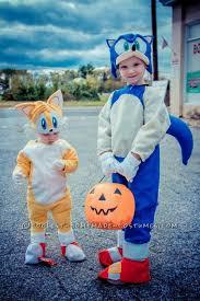 Sonic Halloween Costume Sonic Tails Homemade Costume