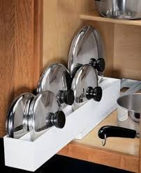 kitchen pan storage ideas best 25 pan storage ideas on pan organization