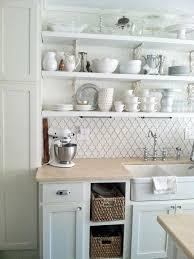 Ceramic Tile For Backsplash In Kitchen by Sinks Light Wood Countertop White Ceramic Tile Backsplash Cottage