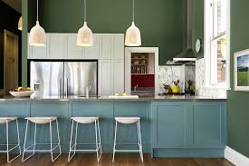 contemporary color palette kitchen transitional with white bar