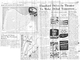 elmsford drive in theatre was located in elmsford new york