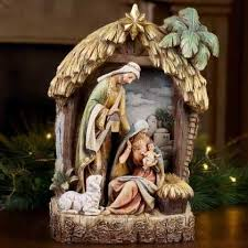 Holy Family Outdoor Christmas Decoration Nativity Scene By Collections Etc by