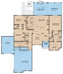 house plan with jack and jill bathroom 5009 st augustine
