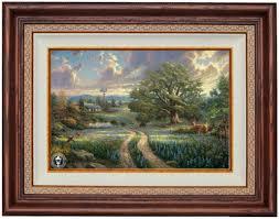 alabama and auburn framed prints country living by kinkade