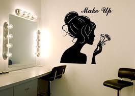 make up wall art decal wall art decal sticker make up wall art decal