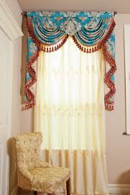 elegant and unique with use peacock curtains room design beaded