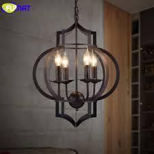 Black Iron Pendant Light Fumat Lantern Pendant Light Retro Industrial Black Iron Pendant