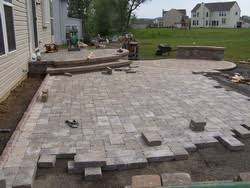 Raised Paver Patio Merkle S Outdoor Living Design Build Maintain
