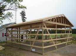 Barn Plans 24x30 Pole Barn Design Farm Pinterest Pole Barn Designs