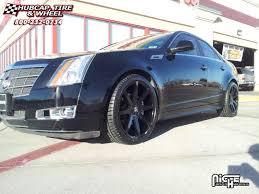 2006 cadillac cts rims cadillac cts dub push s110 wheels gloss black
