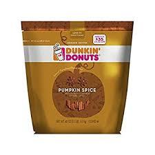 pumpkin spice for coffee amazon com dunkin donuts pumpkin spice ground coffee 40 oz