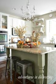 decorating kitchen islands kitchen fall decor ideas that are simply beautiful