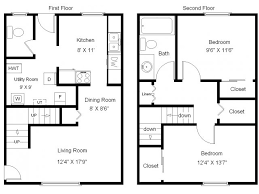 town house floor plans townhouse floor plans 2 bedroom photos and video