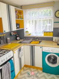 washing machine in kitchen design kitchen reveal funky u0026 retro u2022 grillo designs