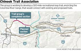 Portland Trails Map by Chinook Trail Association Plans New Connector Trail As Part Of