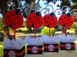 ladybug baby shower favors ladybug baby shower centerpiece ideas chuck 1st bday